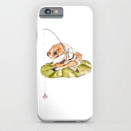 Jeremy Fisher fishing Peter Rabbit  Beatrix Potter iPhone Case