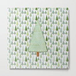 Pine Collage Metal Print