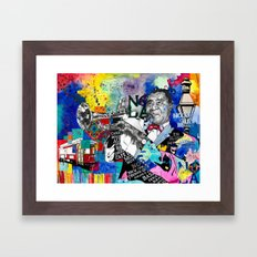 The Sound of New Orleans Framed Art Print
