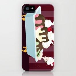 Sundae Bath iPhone Case