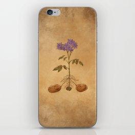 Anatomy of a Potato Plant iPhone Skin