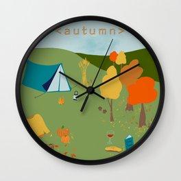 Autumn Bliss Wall Clock
