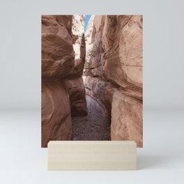 Slot Canyon Mini Art Print