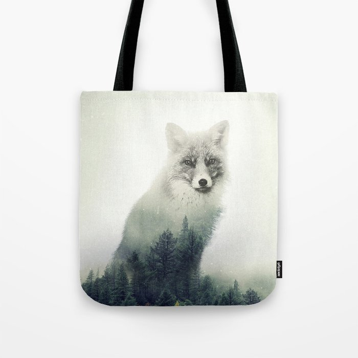 Fox, Forest Animal, Woodlands, Wilderness Tote Bag
