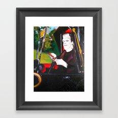 The Munsters Herman Munster Framed Art Print