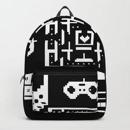 Geek Gamer Pattern Backpack