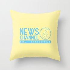 KBBL Springfield Camera Crew Throw Pillow