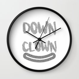 Clown Come On Down With The Clown (3) Wall Clock