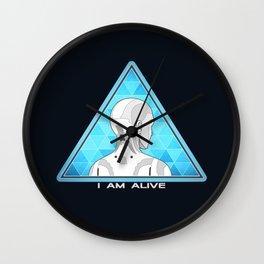 I am alive Wall Clock