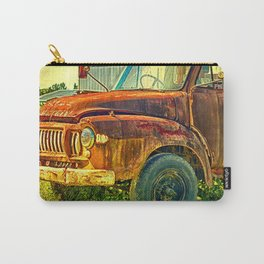Old Rusty Bedford Truck Carry-All Pouch