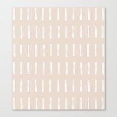 dash blush Canvas Print