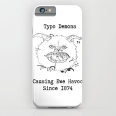 Typo Demons iPhone 6s Slim Case