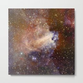 Deep-space nebula Metal Print