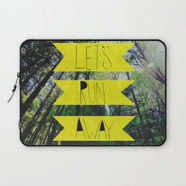 Let's Run Away: Forest Park Laptop Sleeve