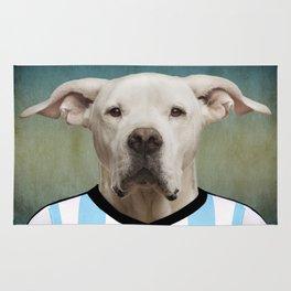 Worldcup 2014 : Argentine - Dogo argentino Rug