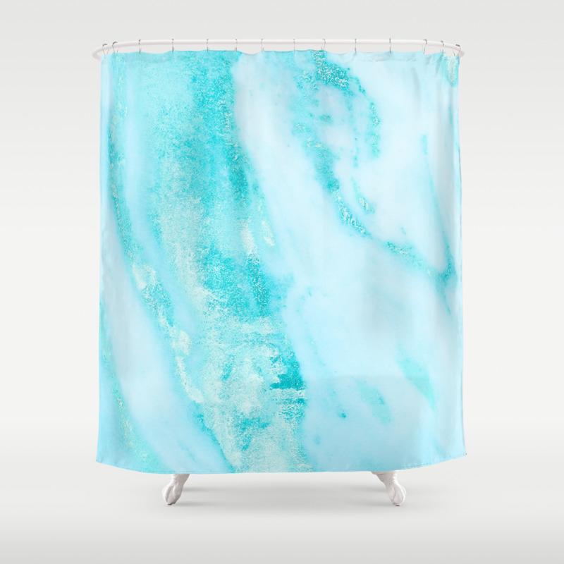 Ocean shower curtain - Ocean Shower Curtain 58