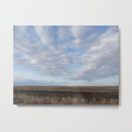 Country Sky Metal Print