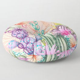 Cacti Love Floor Pillow