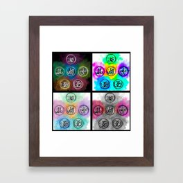 The Pure Five Framed Art Print