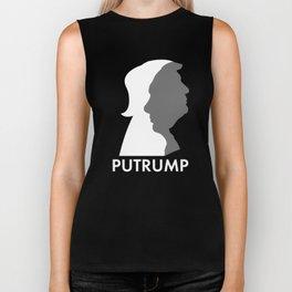 Putrump Putramp, Putin and Trump Putin is Trump  Biker Tank
