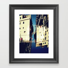 """""""consist of a series of separate segments that together form the linear zone characteristic"""" Framed Art Print"""