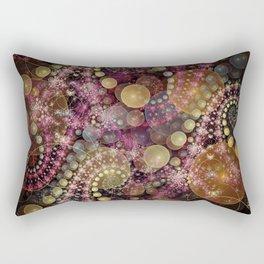 Magical dream, fractal abstract Rectangular Pillow