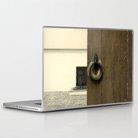 door Laptop & iPad Skins featuring door by Asya Bagdasaryan