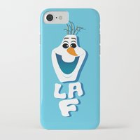olaf iPhone & iPod Cases featuring OLAF by Matteo Gaggia Bomber-art