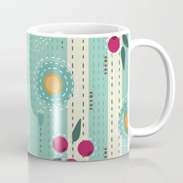 Sashiko Meadow Coffee Mug