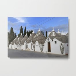 Trulli Alberobello Metal Print