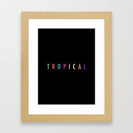 Topical '17 Framed Art Print