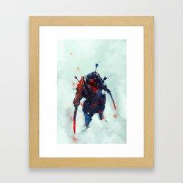Samurai Spirit II Framed Art Print