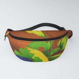 Teacup with Squash Fanny Pack