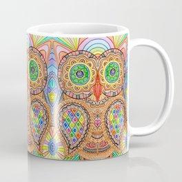 Mosaic Owl Coffee Mug