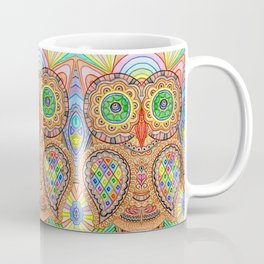 Mosaic Owl Coffee Mug