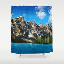 Canadian Vista  Shower Curtain
