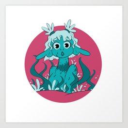 Sea Garden Art Print
