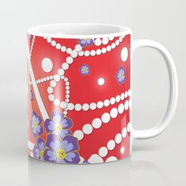 Petals and Pearls Coffee Mug
