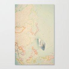 map IV Canvas Print