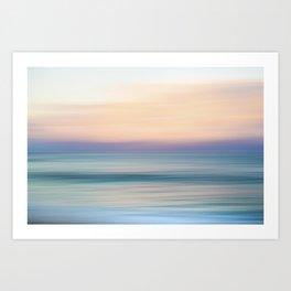Sunrise Motion Art Print