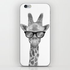 Hipster Giraffe iPhone & iPod Skin