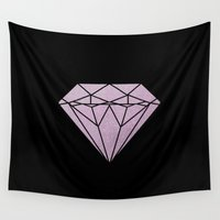 flawless Wall Tapestries featuring Flawless by IndigoEleven