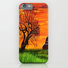 Sunrise on the old farm  iPhone 6s Slim Case
