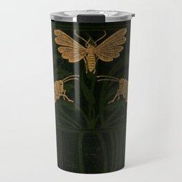 Art Nouveau Insects Travel Mug