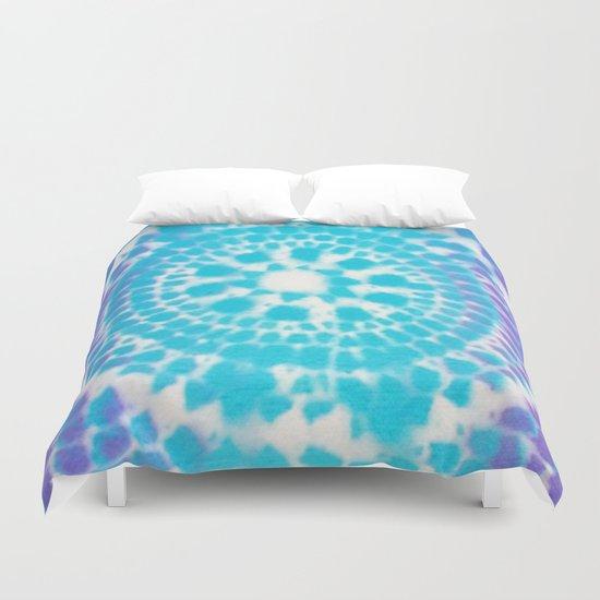 Scale Mandala Pattern Duvet Cover