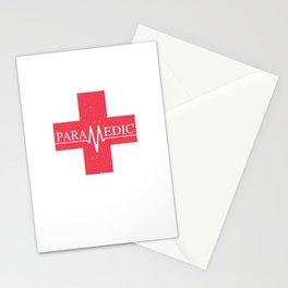 Paramedic Saving Lives Everyday EMT EMS Stationery Cards