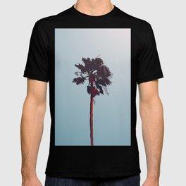 Sunset Palm - Illustration T-shirt