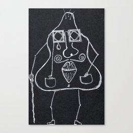Monsieur Pomme de Terre Canvas Print