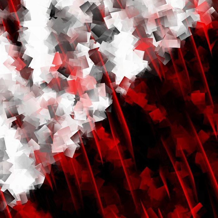 black and white meets red Version 6 Duvet Cover