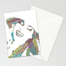 Happy woman II Stationery Cards